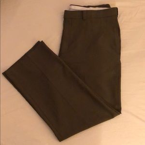 Haggar Brown Dress Pants